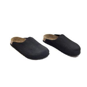 Birkenstock Birki's Black Corduroy Clogs